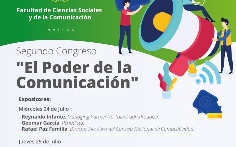 Universidad Católica de Santo Domingo realizará Segundo Contreso El Poder de la Comunicación