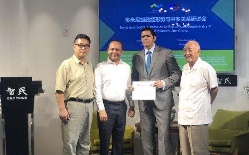 Diplomaticos dominicanos en China valoran confianza entre RD y China en priemer año de lazos bilaterales