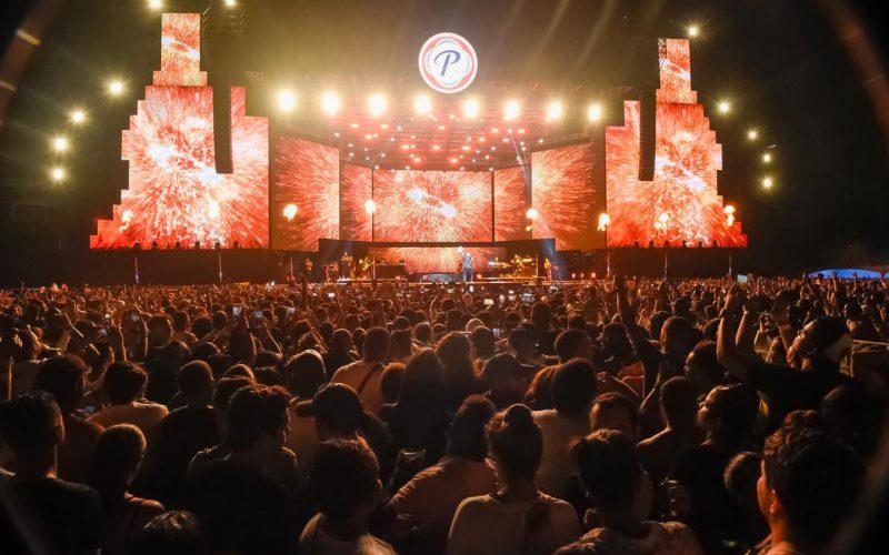 Daddy Yankee, Nene La Amenazzy. Rosaly y Farruko cerraron el Verano Presidente con el Furgón Más Frío en el Estadio Olímpico