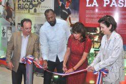 Embajadora EEUU Robin Bernstein y el inmortal Vladimir Guerrero dejan bierta exposición sobre Salón de la Fama Cooperstown «Bassebal!! ¡Beisbol!!» en Galería 360
