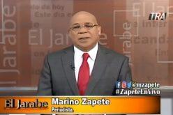 Zapete dice va con su abogado al programa de Huchi Lora a ofrecer detalles de contratos millonarios en dólares de la hermana del Procurador, luego que sacaran el suyo del canal 45 por presiones