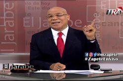 Marino Zapete trasmitirá normal su programa este lunes por su canal de YouTube y TV-Dominicana para EEUU a partir de las 2 de la tarde