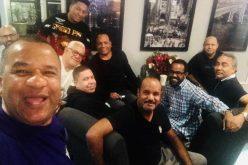 La «juntadera» de Vidal en el Holiday Inn de Fort Lee con periodistas dominicanos invitados al concierto de Romeo Santos en Nueva Jersey