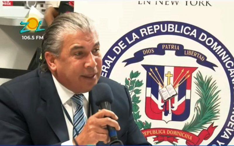 En Nueva York, más de 2 mil 500 dominicanos aplican para adquirir viviendas de Ciudad Juan Bosch en RD, dice el cónsul Carlos Castillo