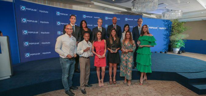 Banco Popular Dominicano premia emprendimientos universitarios en Impúlsate