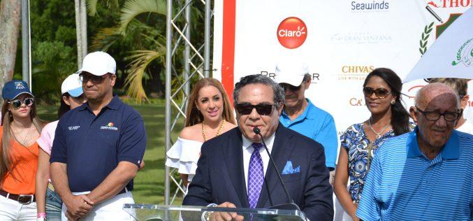Dedicado al empresario Fernando Capellán el Grand Thomas Celebrity Classic en su onceava versión