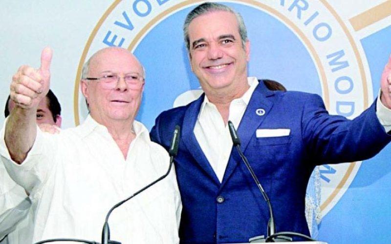 En el PRM todo es armonía entre Hipólito y Luis Abinader luego que éste último ganara las primaras…