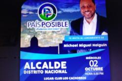 Michael Miguel, el candidato a la alcaldía del Distrito Nacional