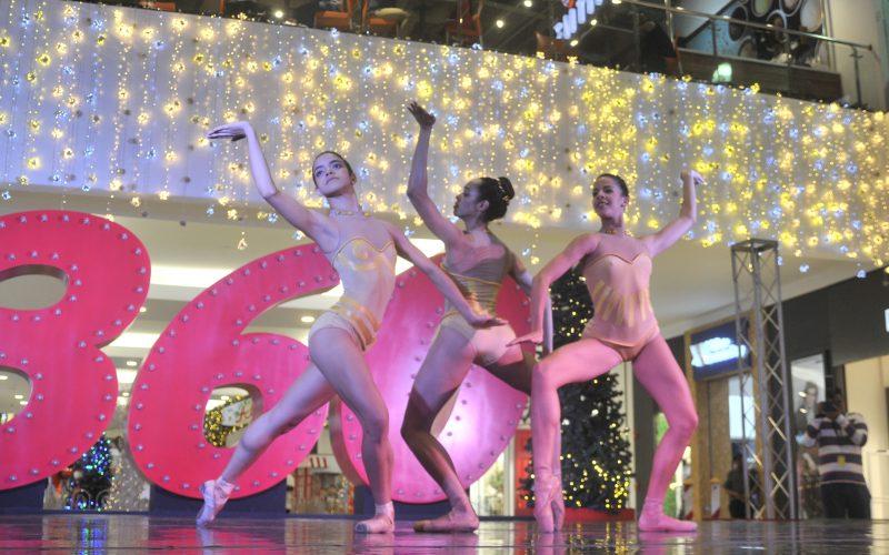 «A tiempo de tres», la danza disfrutada por el público en Galería 360