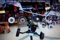 (Video) Una impresionante exposición de obras de arte hechas con metales diversos en Bella Vista Mall
