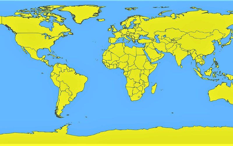 China con Mapa de Cobertura Forestal Global