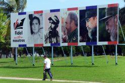Fidel Castro, homenajeado por su Cuba a tres años de su desaparición física