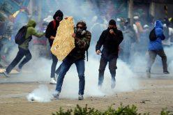 En Bogotá, protestas, marchas, concentraciones, luego de toque de queda