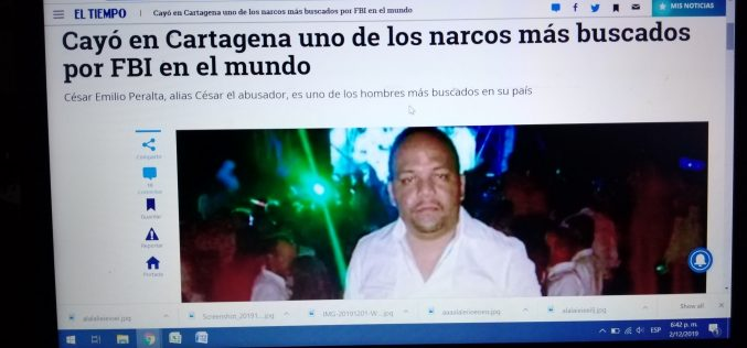 La prensa de Colombia cuenta su historia sobre el arresto de César El Abusador en Cartagena