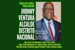 Johnny Ventura quiere otra vez ser alcalde de la Capital; es el candidato de Fuerza del Pueblo