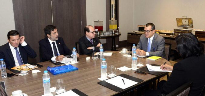 Presidente Tribunal Superior Electoral se reúne con misión de Uniore para tratar sobre elecciones municipales