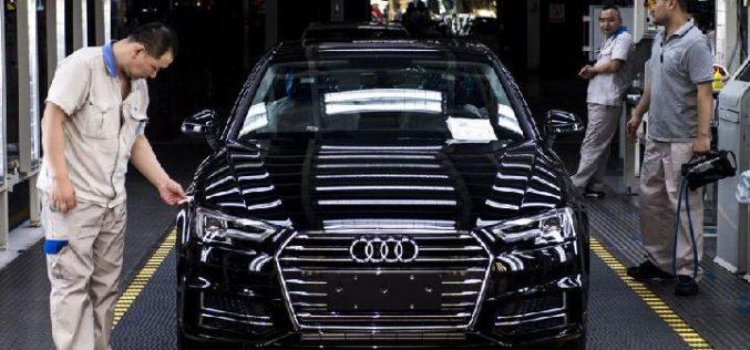 Marca automóviles Audi con record de ventas en mercado chino en 2019