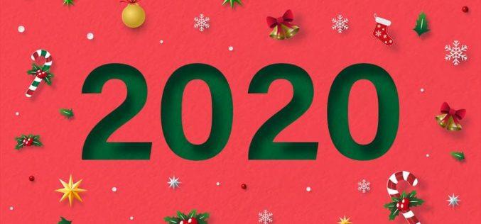 Es tiempo de agradecer, bienvenido 2020