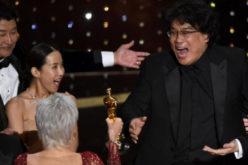 «Parasite», entre los momentos memorables del Oscar 2020