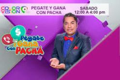 Pégate y Gana con El Pachá es el de mayor audiencia el sábado en programas de variedades, establece empresa de medición de audiencia