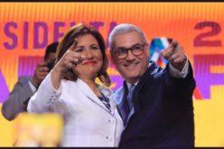 Margarita Cedeño oootra vez candidata vicepresidencial; fue escogida por Gonzalo Castillo para que lo acompañe en boleta