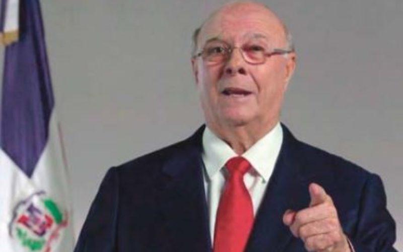Hipólito Mejía ofrece «pleno respaldo» a diálogo nacional para salir de crisis luego elecciones municipales; propone participación de Núñez Collado