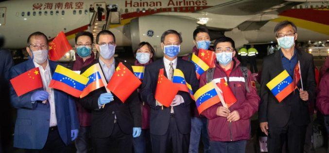 Nicolás Maduro agradece a China envío a Venezuela de especialistas médicos que ayudarán a autoridades a enfrentar el COVID-19