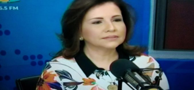 Margarita Cedeño dice fue Danilo Medina quien la metió en política