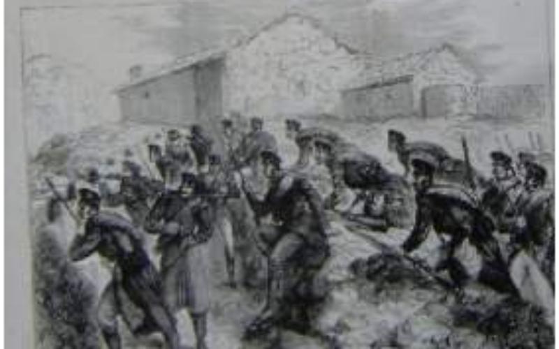 La Batalla de Las Carreras… Dominicanos en acción…