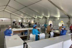 El hospital temporal instalado en La Vega por Luis Abinader y el PRM está súper-activo realizando pruebas coronavirus