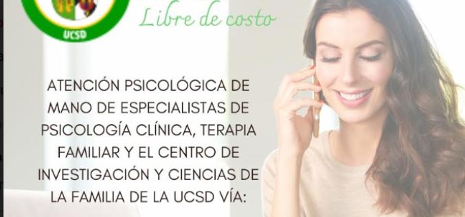 Universiad Católica de Santo Domingo y Centro de Investigación de la Familia con programas sicológicos gratuitos por el Covid-19