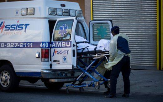 En Estados Unidos hay cerca de 13 mil fallecidos por el COVID-19 con más de 400 mil casos confirmados
