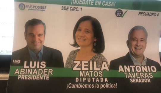 (Video) Zeila Matos va tras una curul en la Cámara de Diputados postulada por Un País Posible, con el apoyo del PRM, Luis Abinader y Antonio Taveras