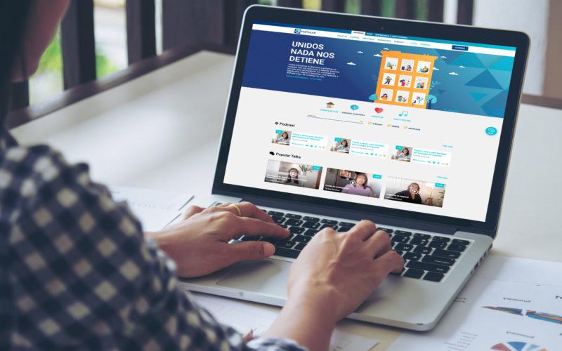 El Banco Popular Dominicano con portal de contenidos para superar la crisis