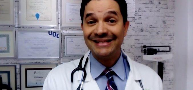 (Video) El nutriólogo Richard Marinde habla de dieta que debe llevar el dominicano en cuarentena por coronavirus; dice hábitos alimenticios cambiarán