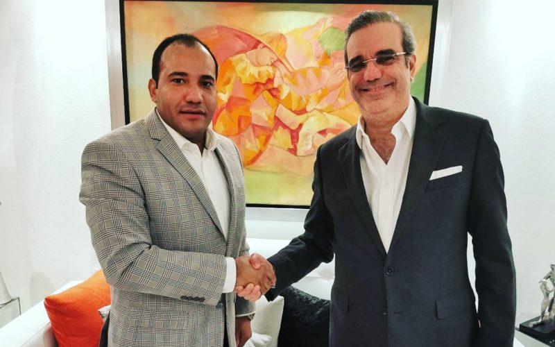 Salvador Holguín felicita al presidente electo Luis Abinader por su contundente triunfo