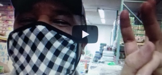 (Video) Vidal Cedeño, ante la caída del negocio del espectáculo latino en Nueva York por el azote del coronavirus, decide invertir en un supermercado