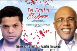 (Video) Dionis K Da Uno, nuevo talento del merengue romántico-urbano, ahora junto al maestro Ramón Orlando, reconocido hacedor de éxitos