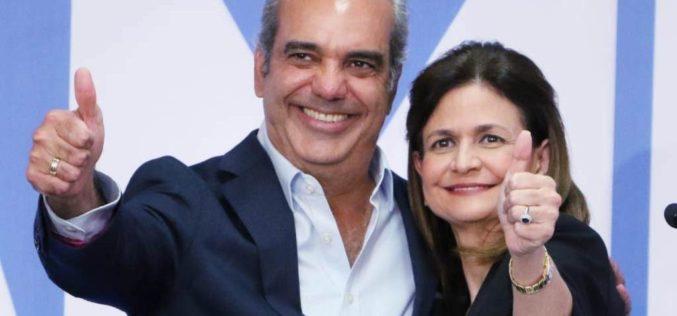 JCE declaró oficialmente ganadores de las elecciones a Luis Abinader y Raquel Peña en nivel Presidencial