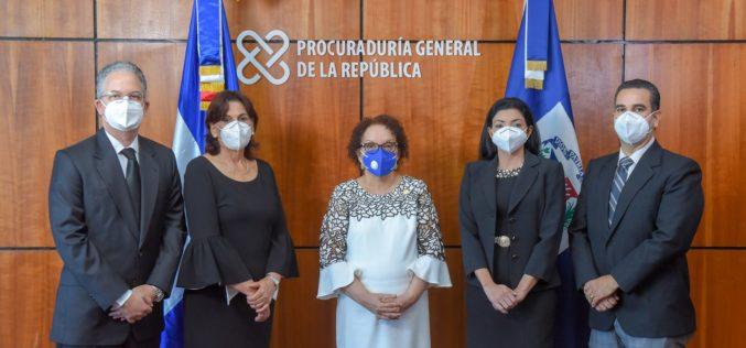 La Procuradora, Miriam Germán: «No toleraremos la corrupción, el narcotráfico ni ningún otro delito; ni trataremos a los procesados con paños tibios»